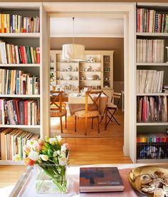 transition between living/dining room
