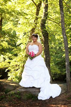 @Vecoma at the Yellow River #weddings #dress