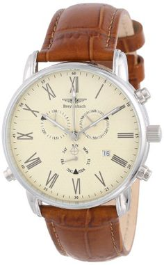Breytenbach Men's Swiss Isa Alarm Chronograph Watch BB77202BE - http://watchesntime.com/breytenbach-men-s-swiss-isa-alarm-chronograph-watch-bb77202be/