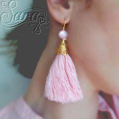Light pink tassel earrings! Info in bio!  #babypink #lightpink #palepink #blush #blushpink #romantic #etsy #handmadeinitaly #handmade #homemade #homework #handcraft #tasselearrings #earrings #rosenquarz #quartz #forsale #supportsmallbusiness #etsyearrings #etsyhandmade #etsyhunter