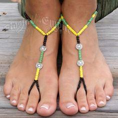 Jamaica Barefoot Sandal Jewelry