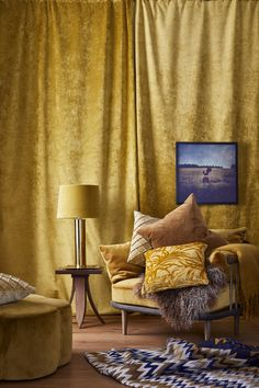 SKH - Stylist: Rebecca Kobus Stylists, Curtains, Home Decor, Blinds, Decoration Home, Room Decor, Draping, Home Interior Design, Picture Window Treatments