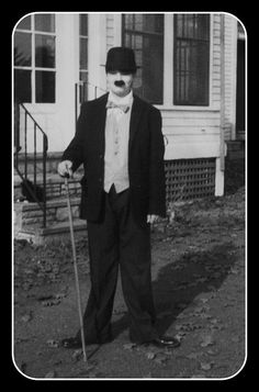 me, age 13 as Chaplin 1984 by On Bradstreet, via Flickr