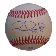 Tampa Bay Rays Robinson Chirinos signed Rawlings ROLB leather baseball w/ proof photo.  Proof photo of Robinson signing will be included with your purchase along with a COA issued from Southwestconnection-Memorabilia, guaranteeing the item to pass authentication services from PSA/DNA or JSA. Free USPS shipping. www.AutographedwithProof.com is your one stop for autographed collectibles from Tampa Sports teams. Check back with us often, as we are always obtaining new items.