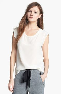 3.1 Phillip Lim Silk Tee available at #Nordstrom 2013