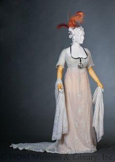 ab. 1803 Evening Gown    linen, cotton    (FIDM Museum)