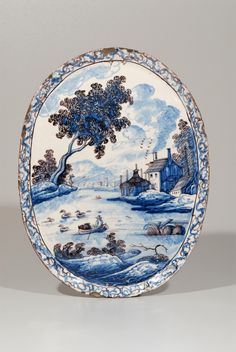 Collection item D0729. Polychrome Oval Plaque Amsterdam, Prinsengracht, circa 1740-50  Size: 37.8 x 28.7 cm. (14 3/8 x 11 5/16 in.)     Share      Download Download larger image    Images on this website are licensed under a Creative Commons Attribution-NoDerivs 3.0 Unported License.