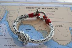 Sailing Bracelet Men's Women's Nautical Hardware by cathydavey, $40.00