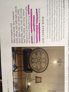 Linear Architectural design, Elle Décor Oct 13 I love the geometric shapes which are being used this season for furniture, home wear and even designs on fashion items. Spaces filled with texture and tone create an effect icon for your living space. Gives a window pane effect?