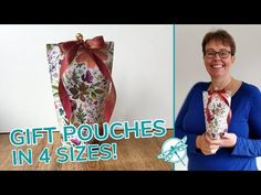 I have a video today for you, that is going to help you with your gift giving. It's a Gift Pouch, or a Gift Bag, I haven't really decided what to call it. Envelope Punch Board, Pouch Tutorial, Circle Punch, Bottle Bag, Make A Gift, 3d Projects, Craft Fairs, Gift Bags, 3 D