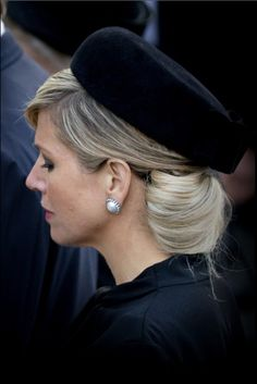 King Willem-Alexander and Queen Maxima of The Netherlands attended the National Remembrance ceremony at the National Monument on Dam Square in Amsterdam on May 4, 2015.