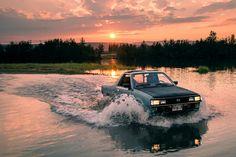 Subaru BRAT at sunset | by musubk