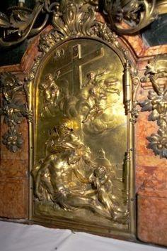 Georg Raphael Donner - Pieta -reliéf na predele oltáře sv. Jana Almužníka, Bratislava, 1729-32