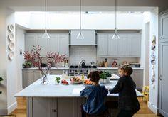 Adamo Family - transitional - kitchen - london