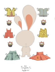 Happy Easter Cards and Cut-Outs