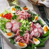 Receptek Lajos Mari konyhájából - Tojásos-sajtos gazdag saláta