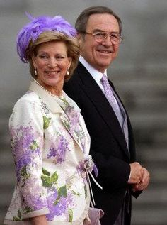Queen Anne Marie and King Constantine, May 22, 2004