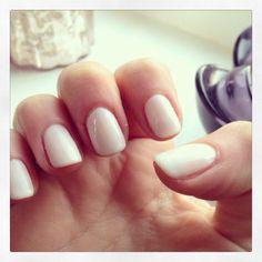 The best nude/neutral shellac color  #shellac #romantique #CND