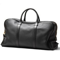 TOM FORD : Boston Bag Black Leather Zip | Sumally