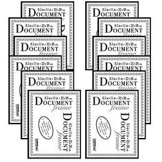 studio 500 85 by 11 inch the slim photo document f - Document Frames 85 X 11