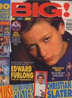 Big magazine....I had this episode and the giant Christian Slater went on my wall <3