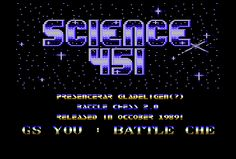 [CSDb] - Science 451 Intro by Science 451 (1989)