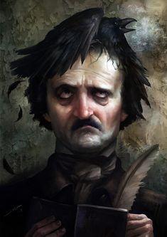 15 Ilustraciones tributo al romántico más oscuro: Edgar Allan Poe