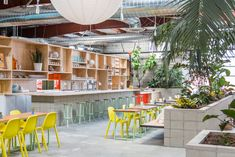 The Springs, a new 13,500 square-foot holistic wellness center opening this weekend in the Arts District of downtown Los Angeles, will offer both dining and wellness services.