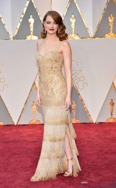 Emma Stone en Givenchy haute couture par Riccardo Tisci