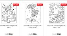 DARICE A2 EMBOSSING FOLDER  This package contains one 5-3/4x4-1/4 inch embossing folder. Comes in a variety of designs. Each sold separately. Imported. Bring any project to life by adding texture and style. These handy embossing folders will work with most die cutting machines  Available in store and onine