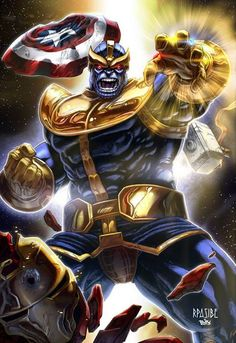 Thanos by Ryan Pasibe and Tots Valeza *