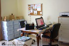 Hannelie Bester's craft space