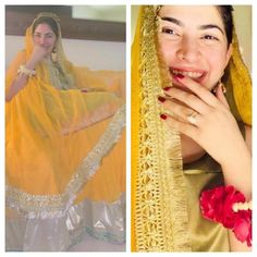 And the celebrations started 😍😊🤩 in traditional dress we can see her happiness mashallah. Looking forward to Her wedding highlights Pakistani Girl, Pakistani Actress, Pakistani Bridal, Celebrity Couples, Celebrity Style, Wedding Highlights, Designer Wedding Gowns, Hollywood Celebrities, Bridal Dresses