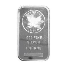 1oz Sunshine Mint Silver Wafer Bar