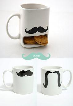 Tazas de bigotes / Moustache Mugs