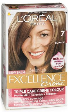 loreal paris excellence creme 7 blonde - Coloration Excellence