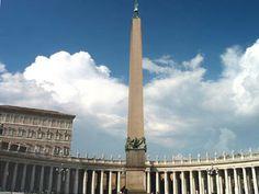 Obelisco del Vaticano, plaza de San Pedro