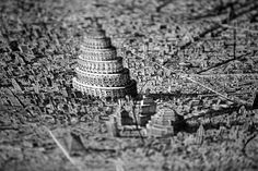 Jaw-Dropping Pen and Ink Cityscapes That Seem to Sprawl into Infinity by Ben Sack | Colossal