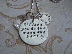 i love you to the moon and back by BeckOriginals