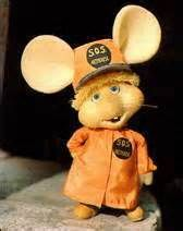 Topo Gigio was the lead character of a children's puppet show on Italian television, in the early 1960s. It was created by artist Maria Perego in 1961 and has been customarily voiced by actor Peppino Mazzullo.