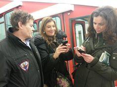 Y @turiskopio y @gemagarrido haciendo un tercer grado a Placido, conductor del funicular  #GaldakaON