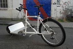 Ich muss zugeben, dass mir die vom Konstrukteur und Industrie-Designer Sven Schulz gewählte Bezeichnung Sports Utility Bike (SUB) zu technisch ist. Für mich ist das, was Ihr hier seht, schlicht und einfach der Cargo Dragster. Wie auch immer: das Teil … Weiterlesen →