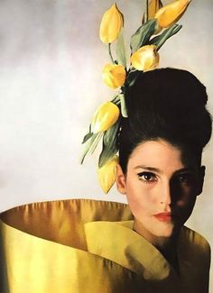 Benedetta Barzini photographed by Irving Penn for Vogue 1965