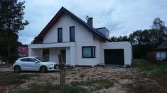 Projekt domu Arystoteles 144,5 m2 - koszt budowy - EXTRADOM Roof Design, House Design, Modern Bungalow Exterior, Design Case, Home Fashion, Beautiful Homes, House Plans, Shed, Outdoor Structures
