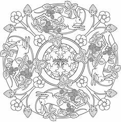 Mandalas - printables...the adult coloring pages!!! Love to color ...