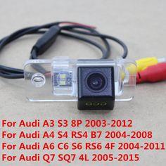 170Degree CCD Special Car Rear View Reverse Backup Parking Camera For Audi A3 S3 8P A4 S4 RS4 B7 8E 8H A6 C6 S6 RS6 4F Q7 SQ7 4L #Affiliate