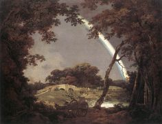 Landscape with a Rainbow - Joseph Wright