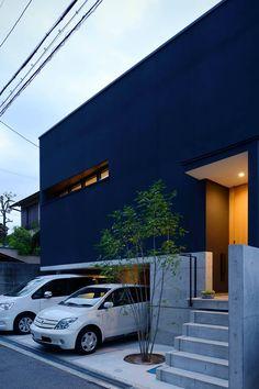 混構造の家 スキップフロア×ワンフロアの家 アーキッシュギャラリー