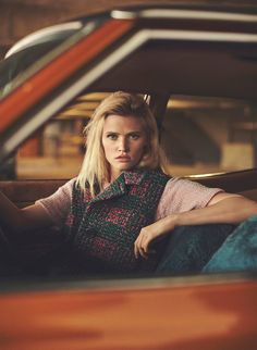 Lara Stone by Emma Tempest for Russh Magazine 66 | The Fashionography