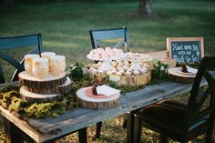 Woodland bridal shower inspiration   Photo by Rose Wheat Photography   Read more - http://www.100layercake.com/blog/?p=67269